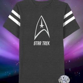 New Star Trek Delta Shield Graphic Mens T-Shirt