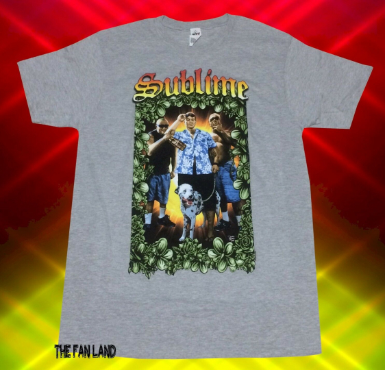 New Sublime Band Photo 1992 Mens Vintage Classic T-Shirt