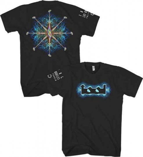 New Tool Band Nerve Ending Mens Black Soft Tee Shirt (MED-2XL) badhabitmerch