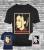 New men's t-shirt billie eilish lovers music fans gift don't smile ocean eye tee