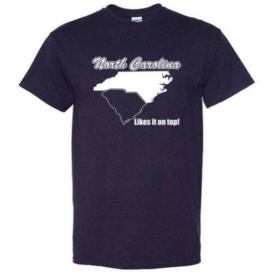 North Carolina Likes  Sarcastic Cool Graphic Gift Idea Adult Humor Funny T Shirt
