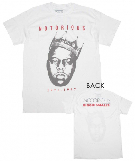 Notorious B.I.G. Vintage Biggie Crown 72-97 Classic T-Shirt