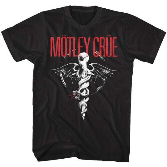 OFFICIAL Motley Crue Dr Feelgood Men's T Shirt Rock Band