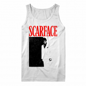 OFFICIAL Scarface Movie Poster Men's Tank Top Tony Montana Sleeveless