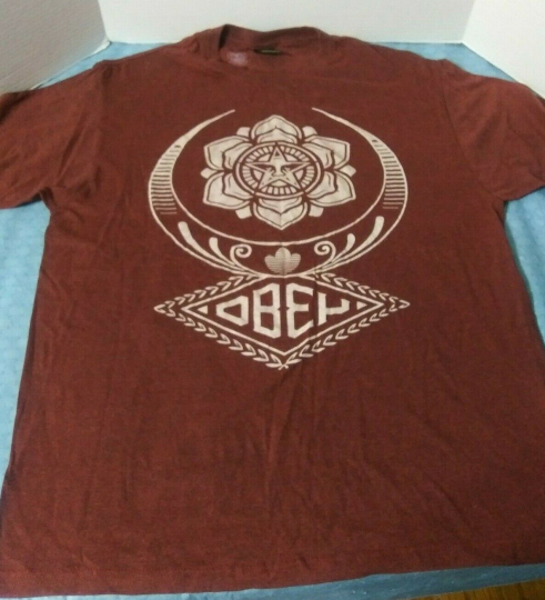 Obey Propaganda T Shirt Size Large Buckle Exclusive