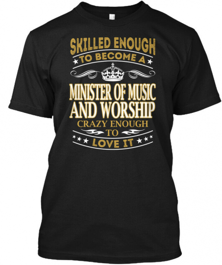Off-the-rack Minister Of Music And Worship Hanes Hanes Tagless Tee T-Shirt