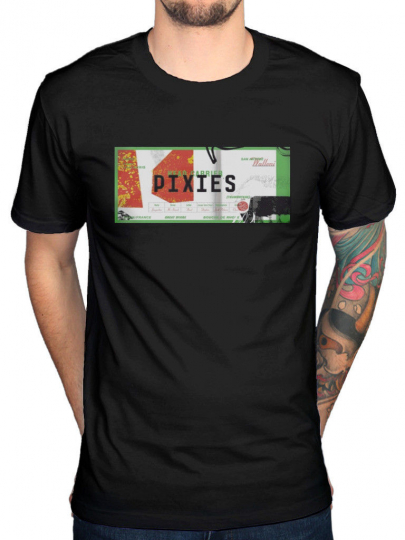 Official The Pixies Head Carrier T-Shirt Indie Cindy Bossanova Doolittle Band