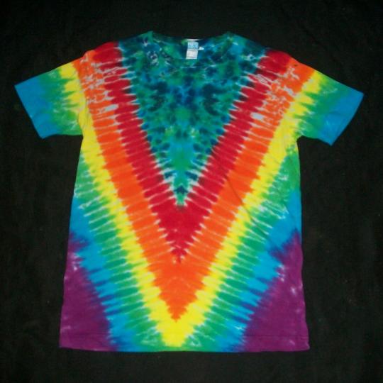 Organic Tie Dye T-Shirt Rainbow