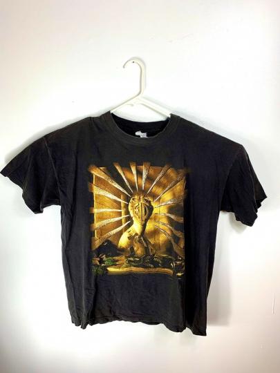 Original Emerson Lake And Palmer Tour Band T-shirt Vintage 1996 Single Stitch XL
