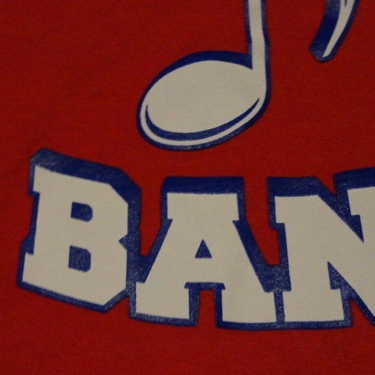 PATRIOTS BAND High School College Music Instrument T Shirt FREE Shipping Medium