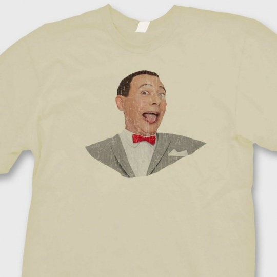 PEE WEE HERMAN Funny T-shirt Vintage 80's TV Show Playhouse Tee Shirt