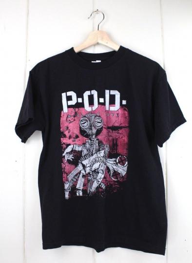 POD Murdered Love Adult Medium T-Shirt Band Tee 2013 Concert Tour Shirt Rock