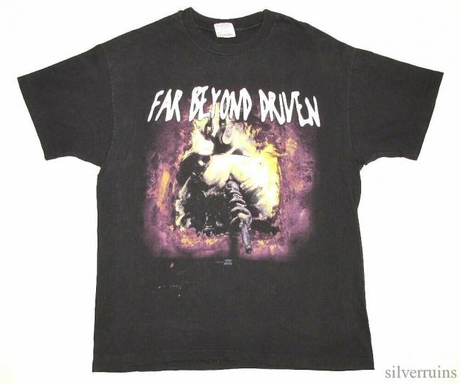 Pantera Vintage T Shirt 1994 Far Beyond Driven Banned Lp Cover Tour Concert XL