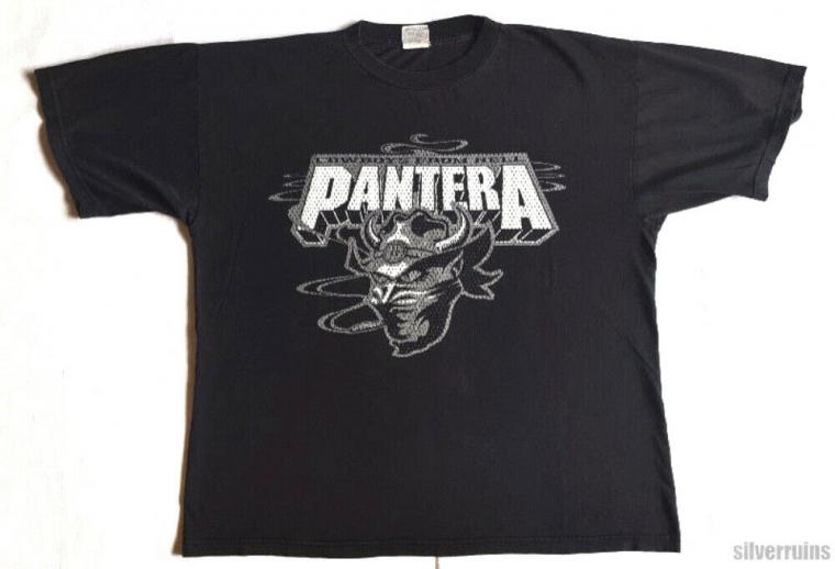 Pantera Vintage T Shirt 90's 1997 Trendkill Tour Concert XL Cowboy Demon CFH