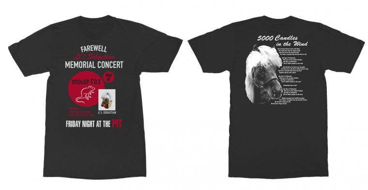Parks and Recreation Memorial Concert Black Adult T-Shirt