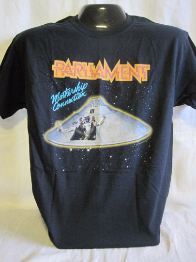 Parliament T-Shirt Tee Music Funk Rock Band George Clinton Apparel New 01