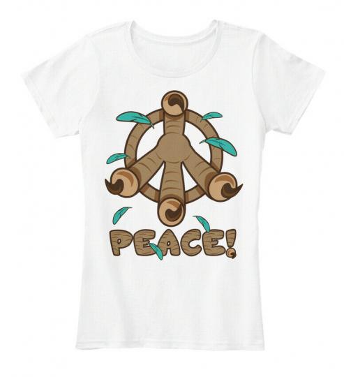 Peace Claw - Women's Premium Tee T-Shirt