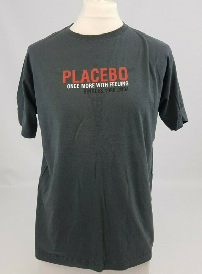 Placebo Once More With Feeling Promo Vintage Band Music Singles Album Tee Shirt