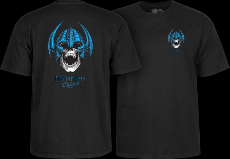 Powell Peralta Per Welinder Short Sleeve Black T-Shirt MSRP $24