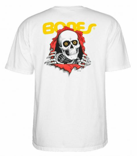Powell Peralta Ripper Short Sleeve T-shirt in White