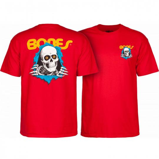 Powell Peralta Skateboard Shirt Ripper Red