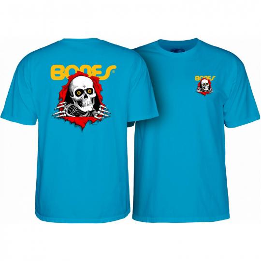 Powell Peralta Skateboard Shirt Ripper Turquoise