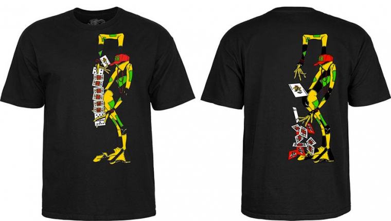 Powell Peralta Skateboards RAY BARBEE Sean Cliver Rag Doll Black T-Shirt