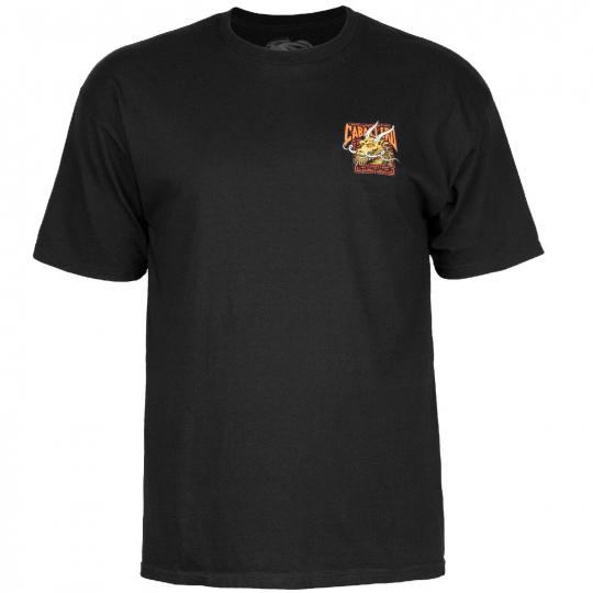 Powell-Peralta Steve Caballero Street Dragon (Black) T-Shirt
