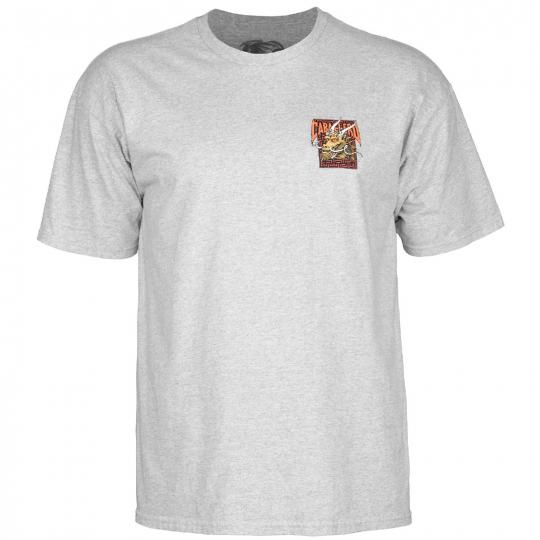 Powell-Peralta Steve Caballero Street Dragon (Grey) T-Shirt