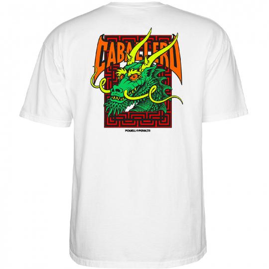 Powell-Peralta Steve Caballero Street Dragon (White) T-Shirt