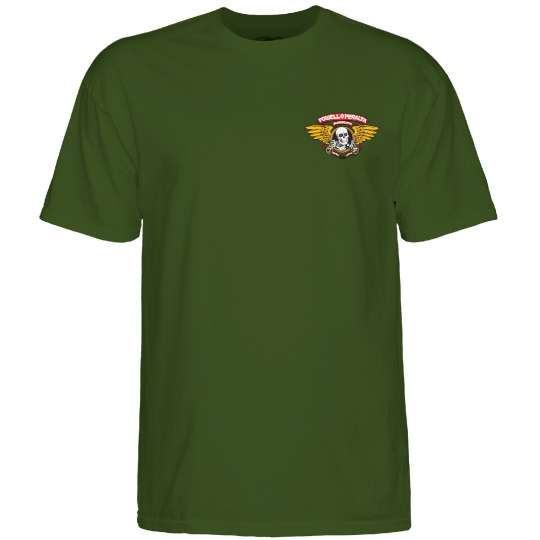 Powell-Peralta Winged Ripper (Military Green) T-Shirt