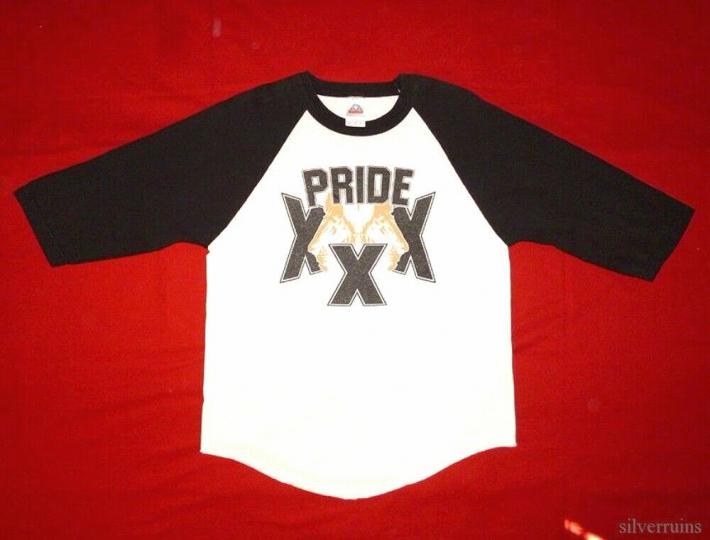 Pride XXX Vintage T Shirt 2000's Concert Tour Straight Edge Hardcore Punk Band
