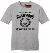Property Of Bushwood Funny Caddyshack Mens Soft Shirt Golf Movie T Shirt Z2