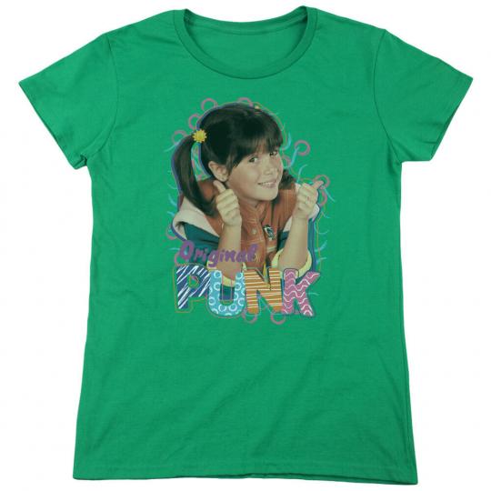 Punky Brewster TV Show ORIGINAL PUNK Face Women's T-Shirt All Sizes