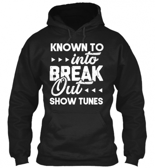 Quote For Theaters Funny Theatrical Gildan Hoodie Sweatshirt