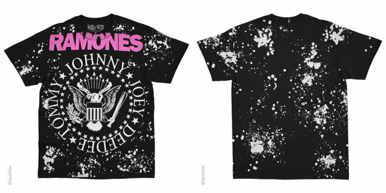 RAMONES-JOHNNY-JOEY-DEEDEE-TOMMY-HAVOK BLACK T SHIRT M-L-XL-2X