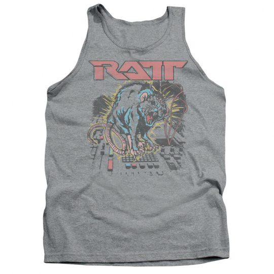 RATT SHOCKED Licensed Adult Men's Graphic Tank Top Sleeveless SM-2XL
