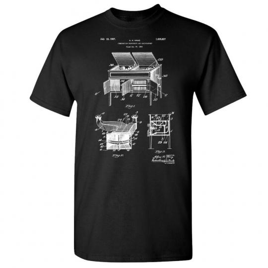 Radio Record Player Phonograph Shirt Vintage Stereo DJ Gifts MC Gift Music Lover
