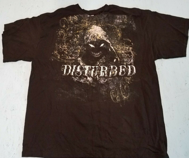 Rare Disturbed Band T Shirt Vintage (?) Never worn. Washed once. Size 2XL, XX