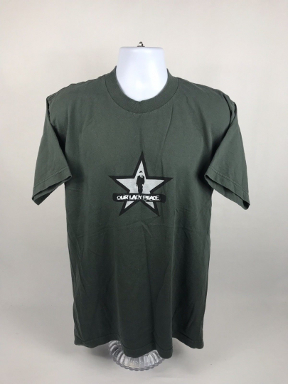 Rare VTG 1999 Our Lady Peace Rock Band Short Sleeve T-Shirt Size Large