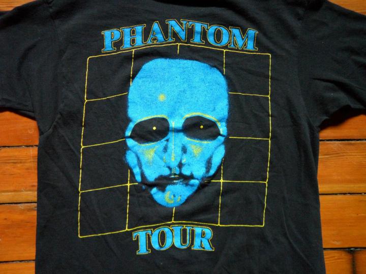 Rare Vtg 80s THE FIXX PHANTOM TOUR Guest Concert Band T Shirt M