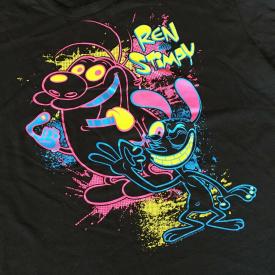 Ren and Stimpy T-shirt, Men's Size : XL