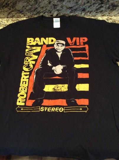 Robert Cray Band VIP Band T-shirt. Large. Free Shipping.