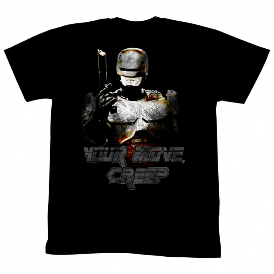 Robocop Movie Your Move Adult T-Shirt Tee