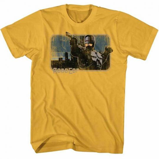 Robocop You Belong To The City Ginger T-Shirt