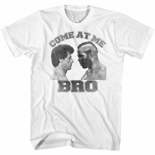 Rocky Come At Me White T-Shirt