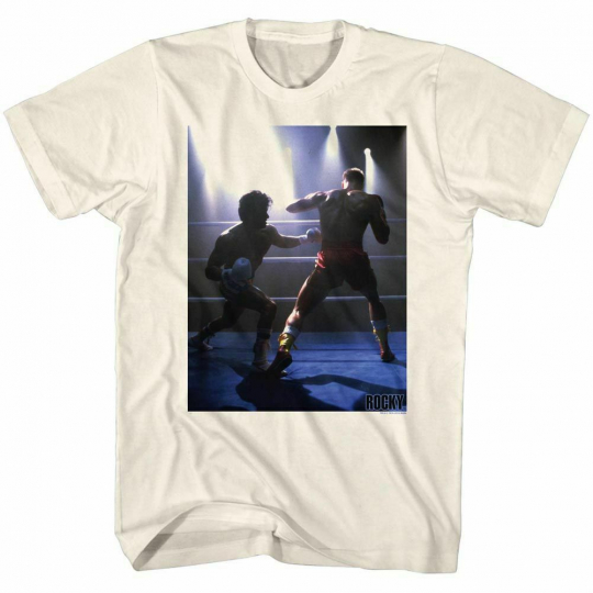 Rocky Down For This Natural T-Shirt