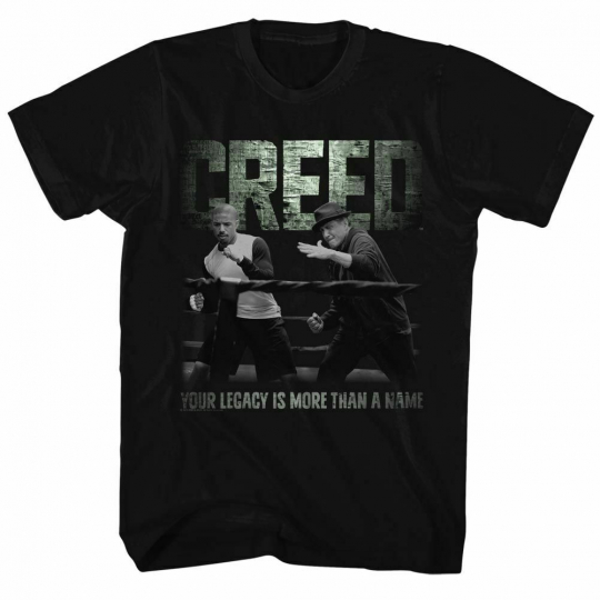 Rocky Embrace The Legacy Black T-Shirt