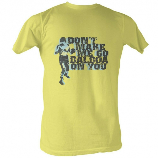 Rocky MGM Movie Balboa On You Adult T-Shirt Tee