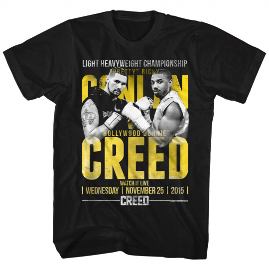 Rocky Mgm Movie Conlan Vs Creed Advertisement Adult T-Shirt Tee